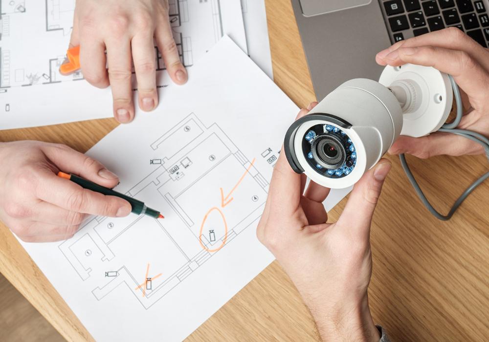 installation caméra de surveillance 77600